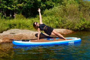 Side Plank, Vasisthasana, SUP Yoga, Paddle board, Paddleboarding, Stand up paddle