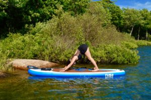 Downward Facing Dog, Adho Mukha Svanasana, SUP Yoga, Paddle board, Paddleboarding, Stand up paddle