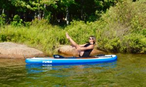 Boat Pose, Navasana, SUP Yoga, Paddle board, Paddleboarding, Stand up paddle